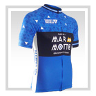 Marmotte Ecosse - S/S Lightweight Full-Zip Cycling Jersey