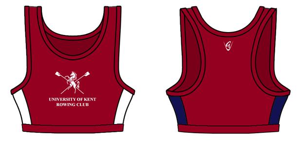 7817947776ec8 Custom Crop Top - University of Kent Rowing Club - Godfrey