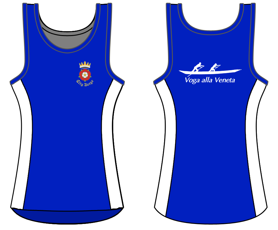 Royal Blue - Custom Singlet