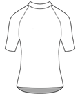 Plain White - Performance Tee SS Plain
