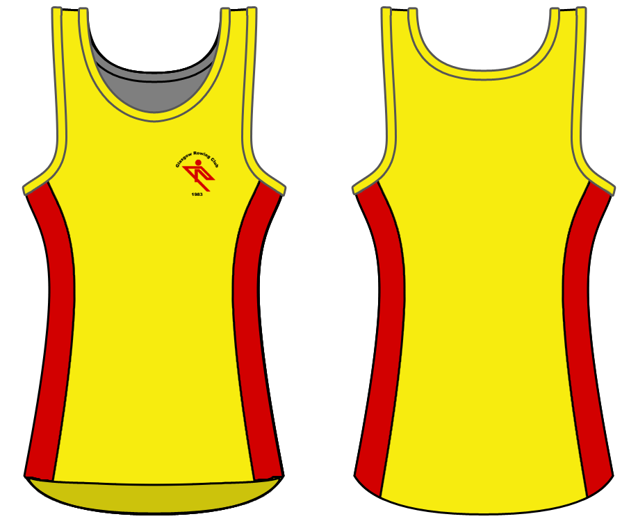 Yellow - Custom Singlet