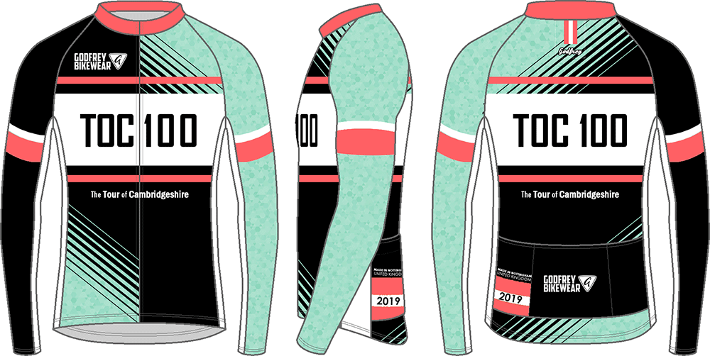 TOC 100 - L/S Classics Full-Zip Cycling Jersey