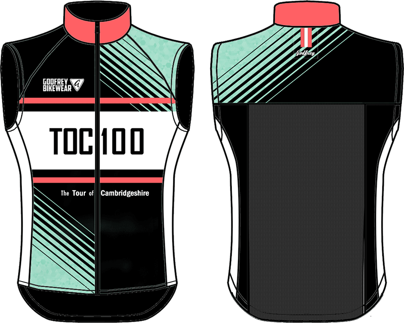 TOC 100 - Full-Zip Cycling Gilet (Unlined)