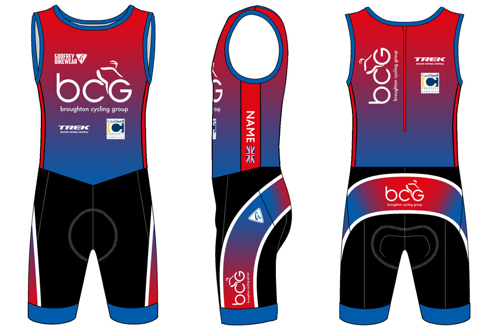 - Custom Triathlon Suit
