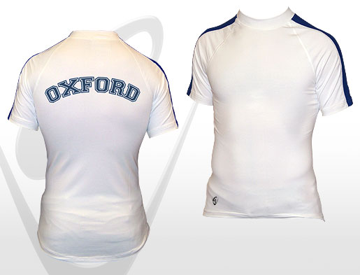 Oxford White SS Tee