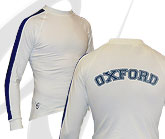 Oxford White LS Tee