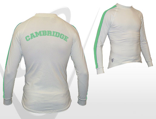 Cambridge White LS Tee