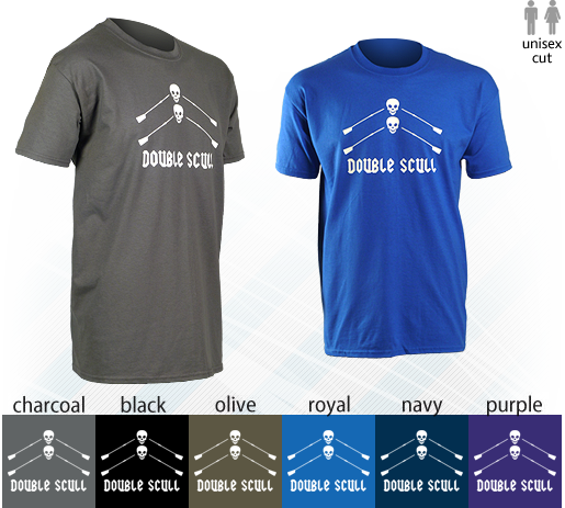 Double Scull Short-Sleeve T-Shirt - Various Colours