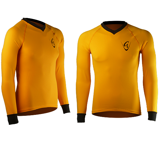 Boldly Go LS Gold Tee