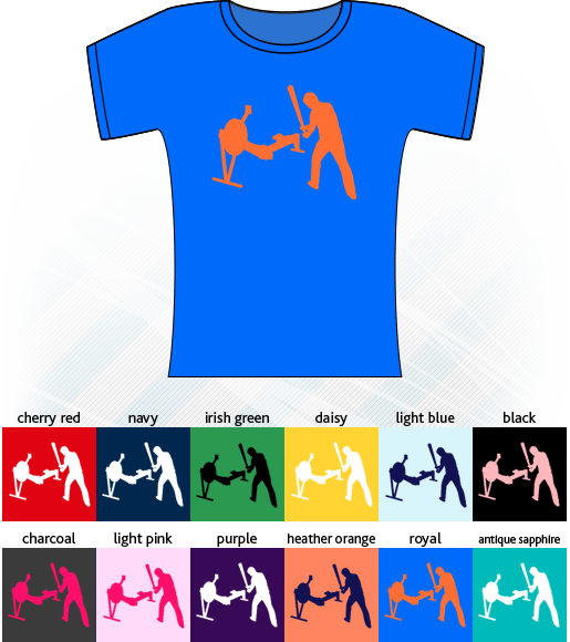 Ergo Basher Short-Sleeve Lady-fit T-Shirt - Various Colours