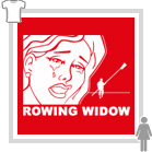 Rowing Widow Short-Sleeve Lady-fit T-Shirt - Various Colours