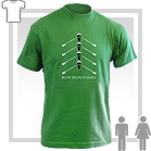Row Responsibly - Irish Short-Sleeve T-Shirt - Various Colours