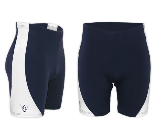 Performance Navy/White Shorts