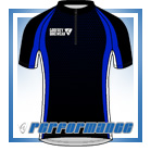 Blue Honeycomb SS Cycling Jersey