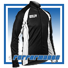 White Honeycomb L/S Full-zip Cycling Jacket (mesh lining)