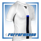 Blue Honeycomb Cycling Hypervent Baselayer