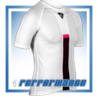 Cerise Honeycomb Cycling Hypervent Baselayer