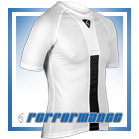 White Honeycomb Cycling Hypervent Baselayer
