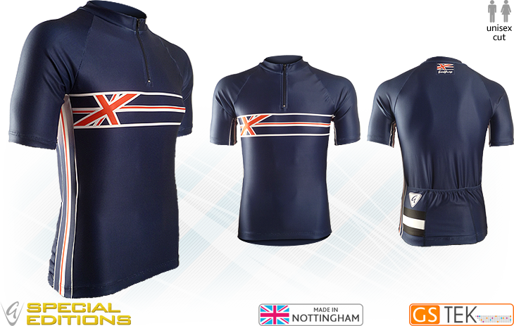 UK Performance Classics Cycling Jersey