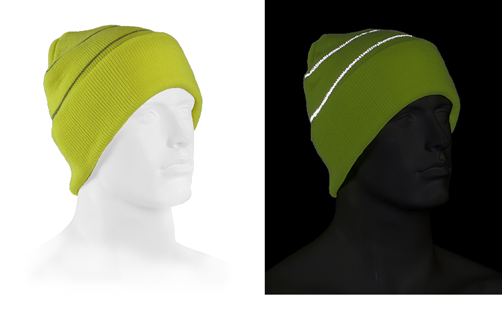 Be Seen Reflective Beanie
