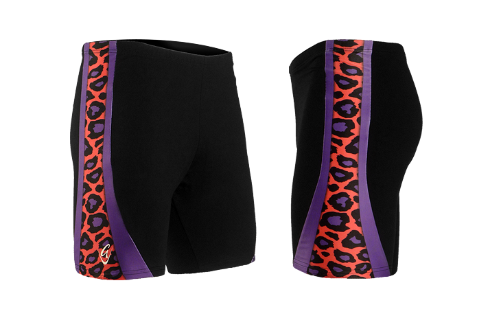 The Pink Leopard Performance Shorts