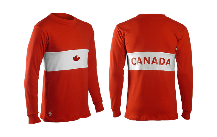 Canada Retro Cotton Long Sleeved Tee