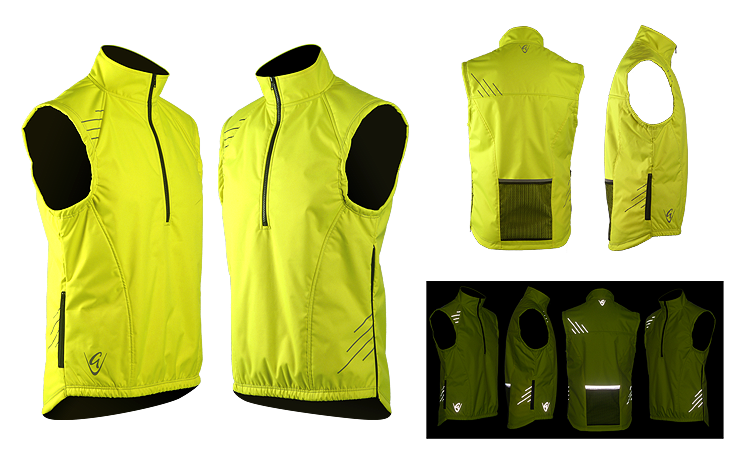 Be Seen Gilet Stripes