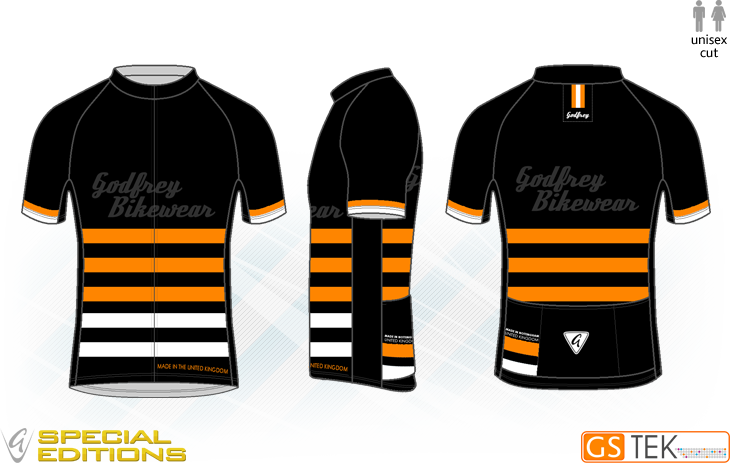 Stripes Cycling Jersey