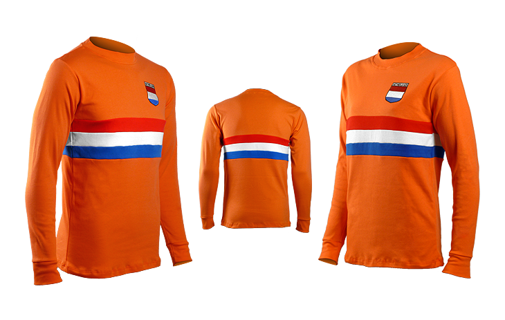 Netherlands Retro Cotton Long Sleeved Tee