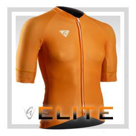 Orange S/S Elite Cycling Jersey