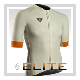 White S/S Elite Cycling Jersey