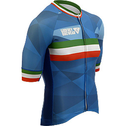 Azzurro Elite Cycling Jersey